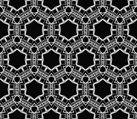 Ornamental seamless pattern. Vector abstract background. Stok Fotoğraf - 124906876