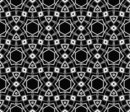 Ornamental seamless pattern. Vector abstract background. Vectores