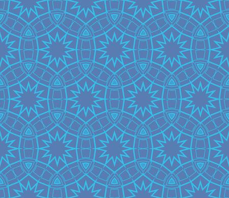 Ornamental seamless pattern. Vector abstract background. Archivio Fotografico - 124906895