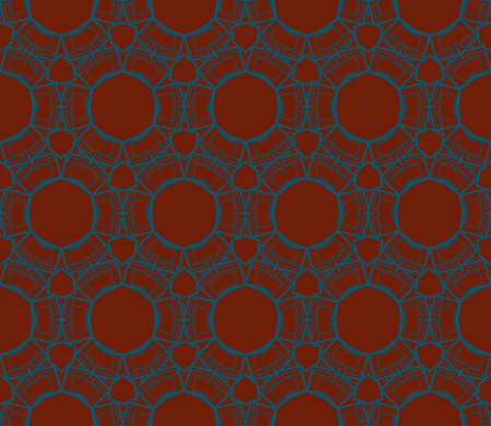 Ornamental seamless pattern. Vector abstract background. Stok Fotoğraf - 124906896