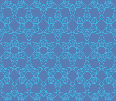Ornamental seamless pattern. Vector abstract background. Archivio Fotografico - 124906899