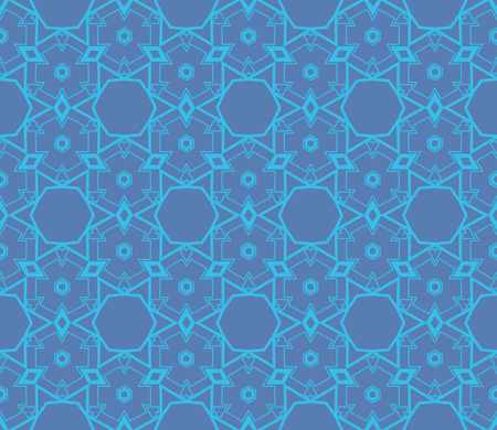 Ornamental seamless pattern. Vector abstract background. Illustration