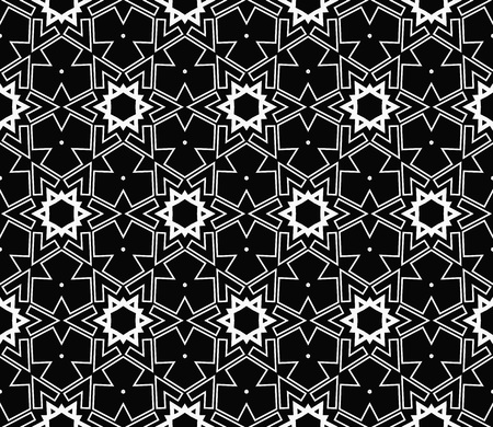 Ornamental seamless pattern. Vector abstract background. Stok Fotoğraf - 124906907