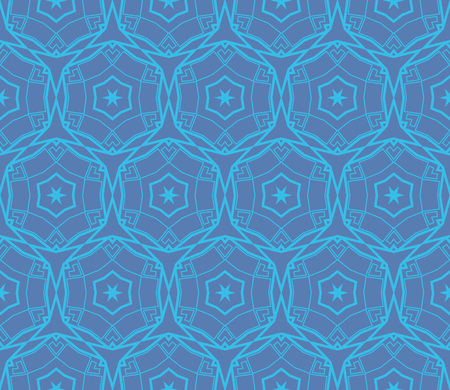 Ornamental seamless pattern. Vector abstract background. Stok Fotoğraf - 124906911