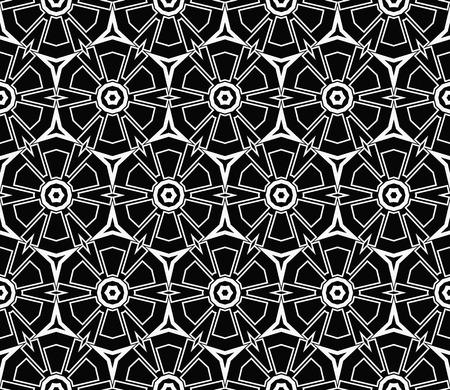 Ornamental seamless pattern. Vector abstract background. Archivio Fotografico - 124906913