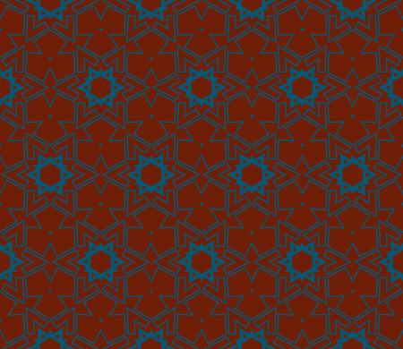 Ornamental seamless pattern. Vector abstract background. Stok Fotoğraf - 124906914