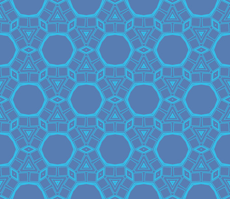 Ornamental seamless pattern. Vector abstract background. Stok Fotoğraf - 124906916