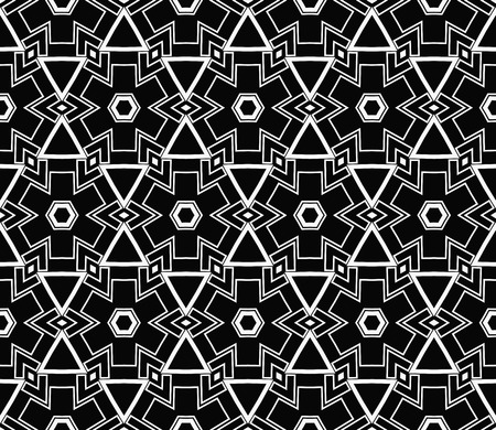 Ornamental seamless pattern. Vector abstract background. Stok Fotoğraf - 124906924