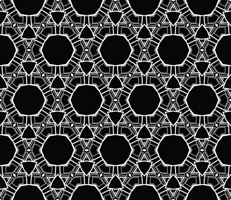 Ornamental seamless pattern. Vector abstract background. Stok Fotoğraf - 124906926