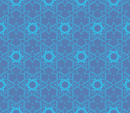 Ornamental seamless pattern. Vector abstract background. Stok Fotoğraf - 124906927