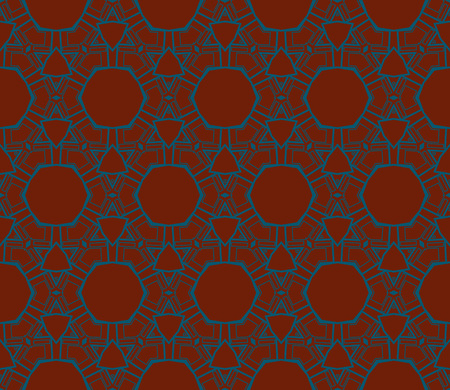 Ornamental seamless pattern. Vector abstract background. Archivio Fotografico - 124906929