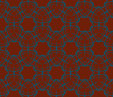 Ornamental seamless pattern. Vector abstract background. Archivio Fotografico - 124906934