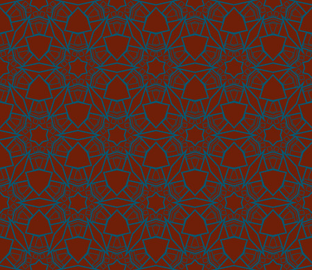 Ornamental seamless pattern. Vector abstract background. Stok Fotoğraf - 124906938
