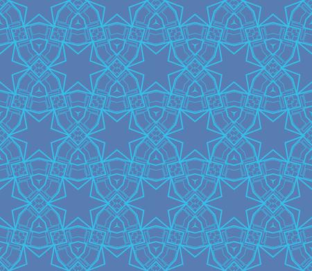 Ornamental seamless pattern. Vector abstract background. Archivio Fotografico - 124906942