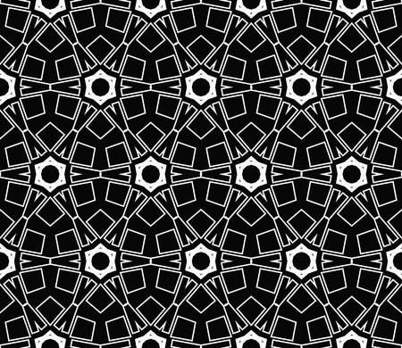 Ornamental seamless pattern. Vector abstract background. Archivio Fotografico - 124906949