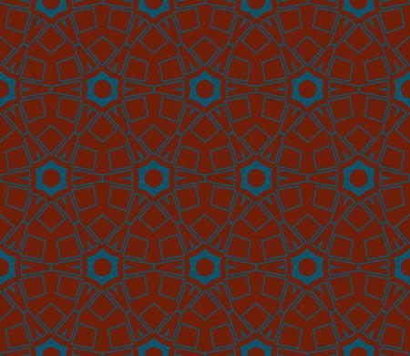 Ornamental seamless pattern. Vector abstract background. Archivio Fotografico - 124906953