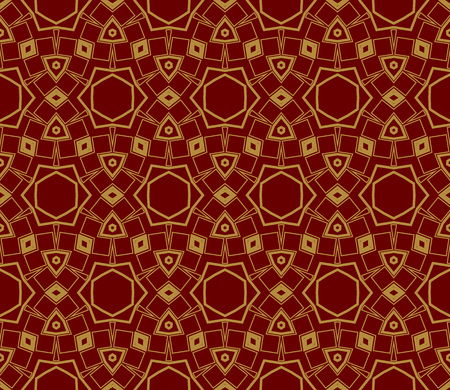 Ornamental seamless pattern. Vector abstract background. Ilustrace