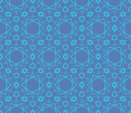 Ornamental seamless pattern. Vector abstract background. Stok Fotoğraf - 124906967
