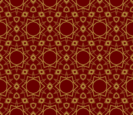 Ornamental seamless pattern. Vector abstract background. Stok Fotoğraf - 124906968