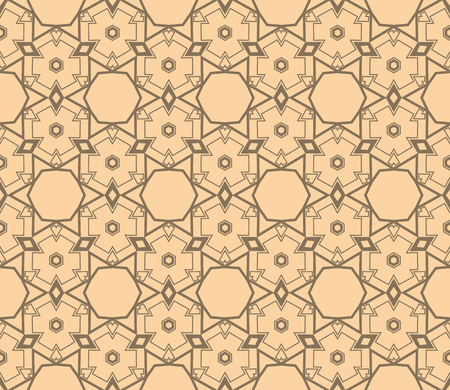 Simple modern seamless geometric pattern. For digital paper, textile print, page fill. Vector illustration Ilustrace