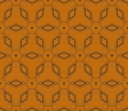 Modern seamless geometric ornament. luxury background. Vector illustration Illustration
