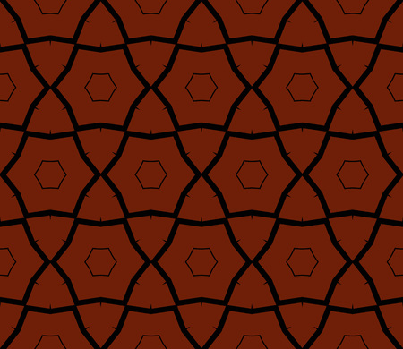 Abstract background with geometric seamless ornament. Vector illustration.