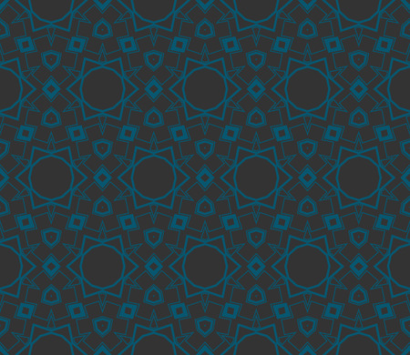 Simple modern seamless geometric pattern. For digital paper, textile print, page fill. Vector illustration Illustration