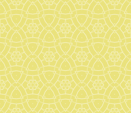 Yellow color. abstract seamless geometries pattern for wallpaper. Vector illustration