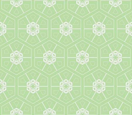 Color design geometric pattern. Seamless vector illustration green color.