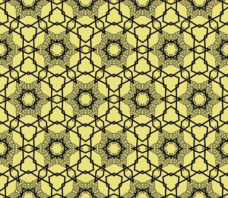 Modern geometric seamless pattern.Vector background. For design, page fill, wallpaper. Vector illustration. For design, page fill, wallpaper