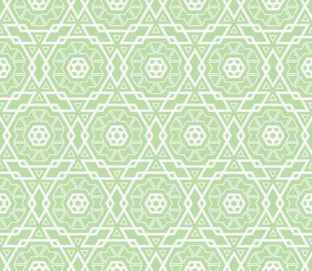 Green color. abstract seamless geometric pattern. for wallpapers, web page background, surface textures, Image for advertising booklets, banners. Vector illustration