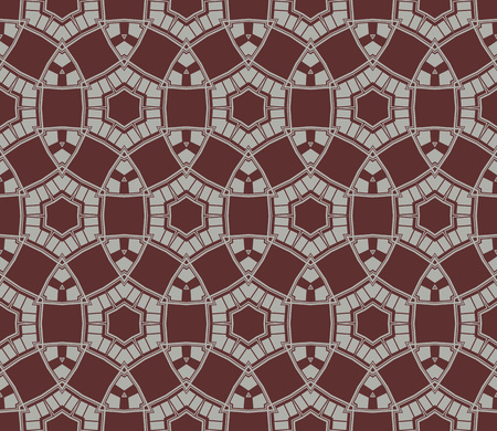 Stylish texture. Repeating abstract background with chaotic strokes. Trendy hipster print.Vector seamless pattern.