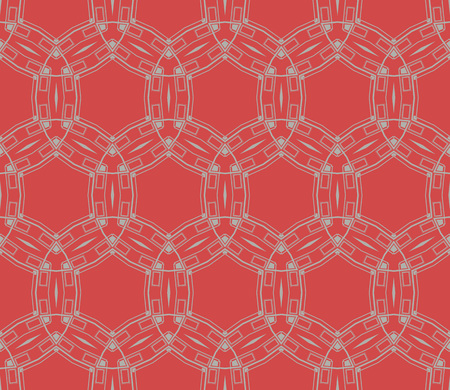 Stylish texture. Repeating abstract background with chaotic strokes. Trendy hipster print. Seamless pattern