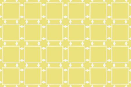 Yellow color. abstract seamless geometric pattern. for wallpapers, web page background, surface textures, Image for advertising booklets, banners. Vector illustration Stok Fotoğraf - 133656010