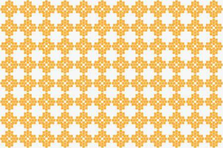 Orange color.Abstract Pattern Texture for Background. Vector seamless pattern Vettoriali