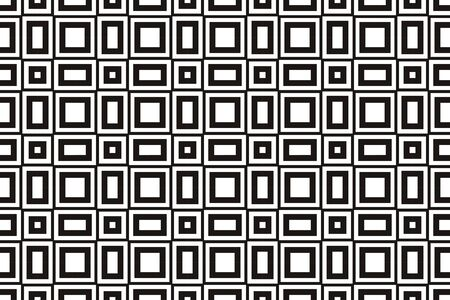 Vector luxury abstract background. Black and white geometric seamless pattern. Reklamní fotografie - 134026033