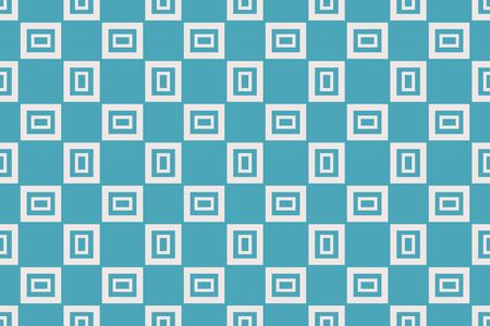 Blue color geometric seamless pattern.Vector background. For design, page fill, wallpaper. Vector illustration. For design, page fill, wallpaper