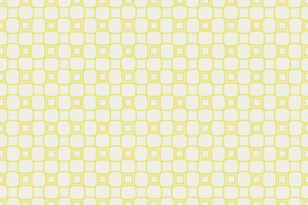 Yellow tones. For the interior design, printing, textile industry. Geometric pattern as seamless vector illustration