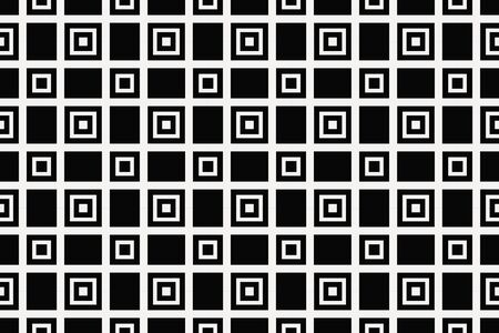 Vector luxury abstract background. Black and white geometric seamless pattern. Reklamní fotografie - 134029031
