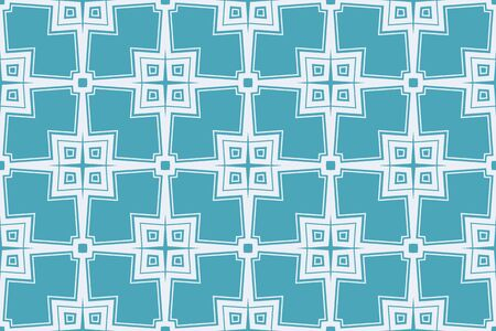Blue color. abstract seamless geometric pattern. for wallpapers, web page background, surface textures, Image for advertising booklets, banners. Vector illustration