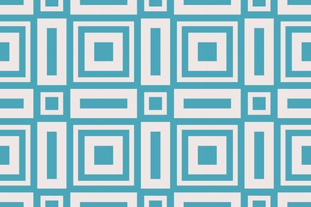Blue color geometric seamless pattern.Vector background. For design, page fill, wallpaper.