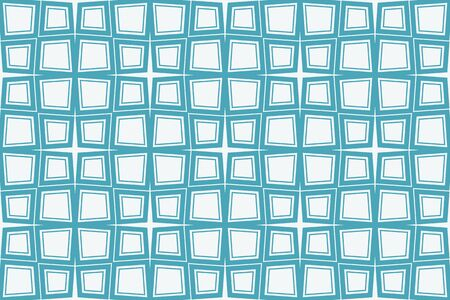 Blue tones. For the interior design, printing, textile industry. Geometric pattern as seamless vector illustration 일러스트