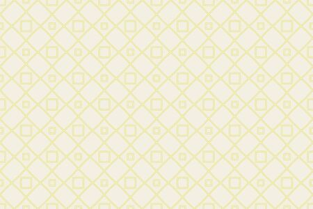 Yellow color. Vector luxury abstract background. Vector seamless pattern