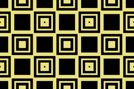 Yellow color. abstract seamless geometric pattern. for wallpapers, web page background, surface textures, Image for advertising booklets, banners. Vector illustration 일러스트