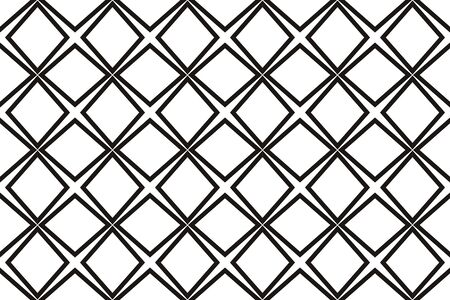 Vector luxury abstract background. Black and white geometric seamless pattern. 일러스트