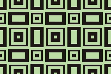abstract seamless geometries pattern. Green color. for wallpaper. design page fill. Vector illustration.