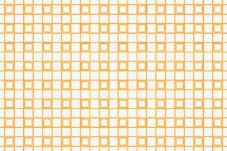 Orange geometric seamless pattern in modern stylish. Abstract background. Vector seamless pattern