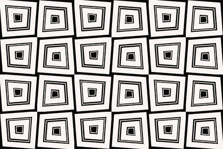 Vector luxury abstract background. Black and white geometric seamless pattern. Reklamní fotografie - 134030364