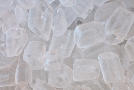 abstract background of  ice cubes photo