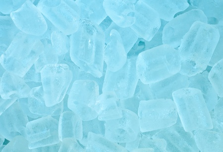 abstract background of  ice cubes Stock Photo - 11995690